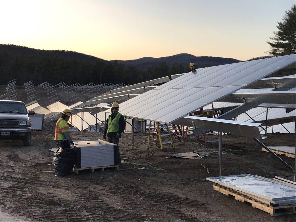 The Peck Company Baldwin Solar 2020